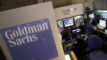 Reigned in by regulation and market conditions, one observer says Goldman is not 'firing on all cylinders.' (Richard Drew/AP)