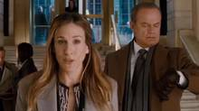 """Screen grab from the online trailer for the film """"I Don't Know How She Does It,"""" starring Sarah Jessica Parker"""