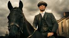 Peaky Blinders- The British series about a gangster family set in 1919, created by Locke screenwriter Steven Knight, arrives on Netflix Tuesday. Get caught up, because Season 2, which will be released in November, stars Tom Hardy. (netflix.com) (Robert Viglasky/BBC)
