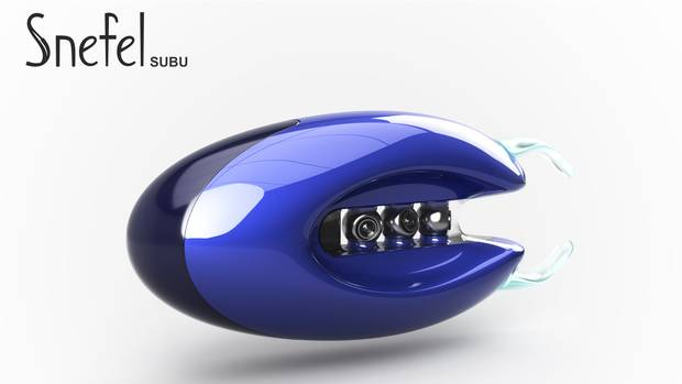 The Subu is designed to repair blood vessels, dig through clots, and collect and analyze samples.