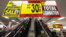 As closing sales are conducted in Target's Canadian stores, executives appear to have benefited from questionable share-unit timing. (MARK BLINCH/REUTERS)