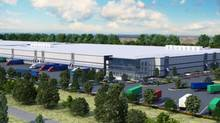 The Dayhu Group of Companies is building its Boundary Bay Industrial Park in the heart of Delta with high ceilings and huge floorplates to meet the new e-commerce demand for big distribution centres that can accommodate large stores of inventory and the automated equipment needed to move it around. (The Dayhu Group)
