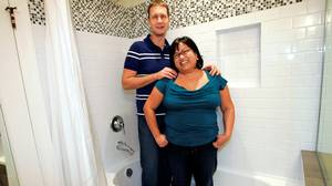 Tiana Mah and her husband Mark Patterson used the money in their TFSA for bathroom and other renos in their home in Vancouver.