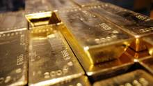 Gold bars are seen in this file photo. (SEBASTIAN DERUNGS/AFP/Getty Images)