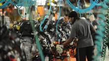 Canada's productivity growth has lagged the U.S. by almost a full percentage point per year over the past 25 years, previous Conference Board papers have shown. (Kevin Van Paassen/Kevin Van Paassen/The Globe and Mail)
