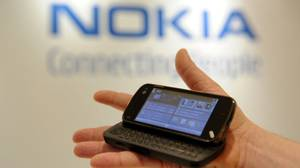 Nokia has watched Apple and RIM run away with its smart phone business (Nokia N97 shown here); can the Finnish handset maker make gain a foothold in an emerging category?