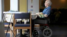 The rate of depression in care facilities cannot be directly blamed on seniors? living conditions, doctors say. (Christopher Furlong/Getty Images)