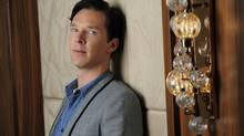 "This Sept. 8, 2013 photo shows actor Benedict Cumberbatch at the 2013 Toronto International Film Festival in Toronto. Cumberbatch stars as WikiLeaks founder Julian Assange in""The Fifth Estate,"" in theaters on Oct. 18. (Chris Pizzello/AP)"