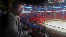 Canadiens GM Marc Bergevin at the Bell Centre last month. In three years back in native Montreal, he has the Habs back in serious contention. (Graham Hughes For the Globe and Mail)