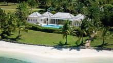 Jumby Bay, a private island resort in Antigua. (Robby Breadner)