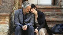 "Juliette Binoche and William Shimmell in a scene from ""Certified Copy"""