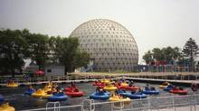 Bumper boats at Ontario Place in Toronto, August, 2004: Today's topics: the old, the young; rage and justice; Inuit and training; Ontario Place's future; political enemas ... and more (Richard Buchan/THE CANADIAN PRESS)
