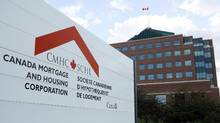 The Canada Mortgage and Housing Corporation complex in Ottawa. (Sean Kilpatrick for The Globe and Mail)
