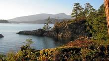 King Edward Bay, Bowen Island. (Globe files/Globe files)
