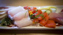 Assorted sashimi platter at Octopus Garden in Vancouver. (John Lehmann/The Globe and Mail)