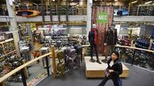 A Mountain Equipment Co-op store in downtown Toronto is seen in Oct, 2015. (Fred Lum/The Globe and Mail)
