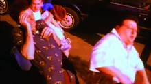 Wayne Knight in a scene from Seinfeld.