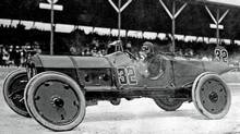 Ray Harroun won the first Indy 500 in a Marmon Wasp. (IMS Speedway)