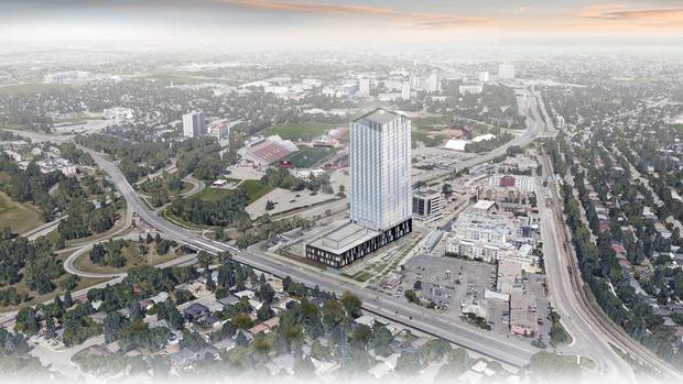 proposed calgary tower aims to meet student housing demand. Black Bedroom Furniture Sets. Home Design Ideas