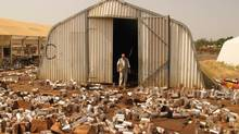 The looting in South Sudan will severely hinder efforts to help the 863,000 people who have fled their homes and the 3.7 million vulnerable people who are in desperate need of food. (Geoffrey York/The Globe and Mail)