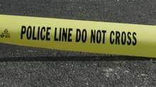 Police Do Not Cross tape. (Globe files/Globe files)