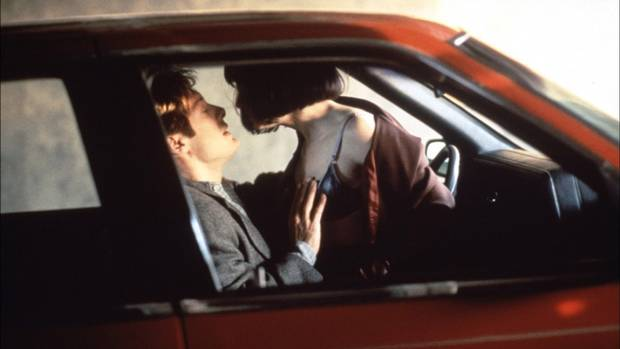 Crash (1996: James Spader, Rosanna Arquette) Ever get excited by the sight of a car accident? Uh, sexually, I mean. Well, that's what this movie is all about. Yep, there's nothing quite like kinky crashed car sex to get the pistons pounding and the engine racing. Dark. Disturbing. And dumb.