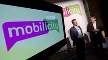 File photo of Mobilicity launch in Toronto, Feb. 2, 2010. (Peter Power/The Globe and Mail/Peter Power/The Globe and Mail)