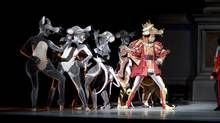 Dancing mice join the Royal Winnipeg Ballet's production of The Nutcracker. (Bruce Monk)