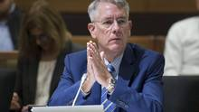 Outgoing CRTC chairman Jean-Pierre Blais is seen in this file photo. (Adrian Wyld/THE CANADIAN PRESS)