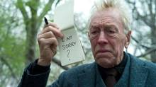 "Max Von Sydow in a scene from ""Extremely Loud and Incredibly Close"" (AP Photo/Warner Bros.)"