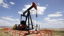A Canadian Natural Resources pump jack. (TODD KOROL/REUTERS)