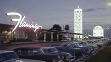 Las Vegas's Flamingo Hilton – a modern, pink-tinged oasis in an interpretive desert. (Courtesy of UNLV Libraries, Special Collections)