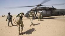 Ottawa plans to spend $306-million in the 2016-17 fiscal year on the revised military mission in Iraq. (OP Impact, DND)
