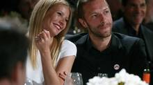 Gwyneth Paltrow and singer Chris Martin at the 3rd Annual Sean Penn & Friends Help Haiti Home Gala in Beverly Hills, Calif. (Colin Young-Wolff/AP)