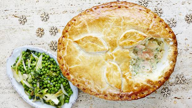 Recipe epic christmas fish pie the globe and mail for Fish pie jamie oliver
