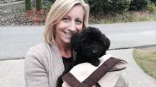 Tanya Oliva took two weeks of 'maternity leave' to help her wheaten terrier-poodle mix Casper settle into his new home. (Tanya Oliva)