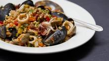 Mediterranean-inspired dishes, like these pearls of seafood, combine versatile, delicious flavours with heart-healthy eating. (Moe Doiron/The Globe and Mail)