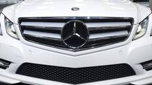 A recent Ontario Superior Court ruling in a dispute between Mercedes-Benz Canada Inc. and auto importer Fournier Leasing Co. Ltd. confirmed that companies can invoke the regulated conduct doctrine. But the judge in the ongoing case said it's not a blanket defence. (Nathan Denette/THE CANADIAN PRESS)