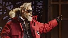 Meet the new Fashion Santa, not the same as the old Fashion Santa. (Chrisl Nicholls/Yorkdale)