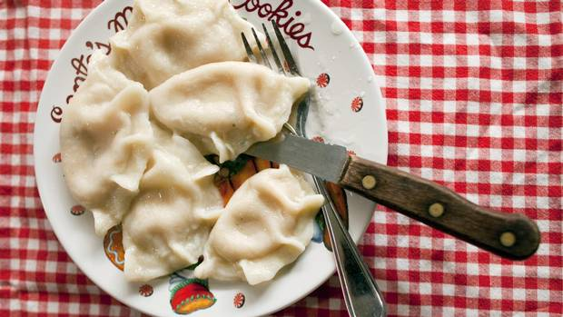 Pierogis made by Gerene Murphy in Windsor, Ont.