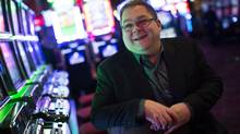 Howard Blank, VP Corporate Communications for the Great Canadian Gaming Corporation, at the River Rock Casino February 22, 2013. (John Lehmann/The Globe and Mail)