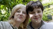 Kristine Barnett, with her son Jacob, 15, who has an IQ higher than Einstein's. (Deborah Baic/The Globe and Mail)