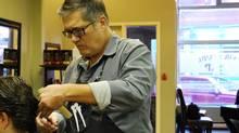 ASaP Hair Studio stylist Paul Ouellette (Hilari MacLeod)