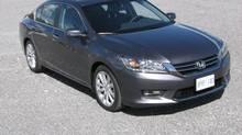 2013 Honda Accord (Bob English for The Globe and Mail)