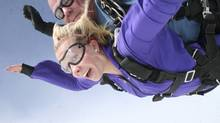 Becky Mildon enjoys risky sports like skydiving, but she prefers to do them through an established organization with professionals and safety equipment on hand.