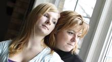 Sarah Cannon's 15-year old daughter, Emily was diagnosed with bipolar disorder when she was five. (Peter Power/Peter Power/The Globe and Mail)