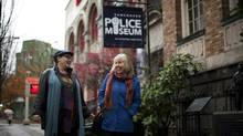 Sally Stubbs, right, and director Donna Spencer will put up 'Kid Gloves' in the neighbourhood (Rafal Gerszak/Rafal Gerszak)