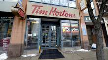 The Tim Hortons coffee shop at 2183 Queen St. East in Toronto's Beach neighbourhood is photographed on March 5 2014. (Fred Lum/Fred Lum/The Globe and Mail)