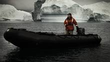 A portrait of Students on Ice Expedition Leader Geoff Green in Greenland for the Canadian Museum of Nature. (Justin Bastien)