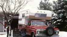 When he was young Guy Nicholson's mom took him on a road trip across the continent in a red Ford truck with a camper top. (Jack Page)